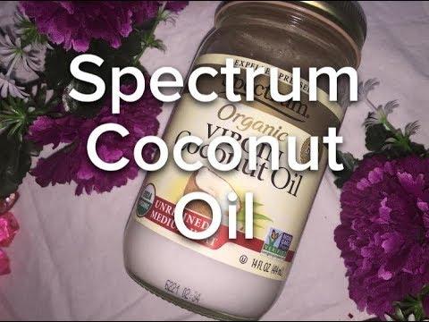 UNREFINED ORGANIC VIRGIN COCONUT OIL REVIEW   SPECTRUM