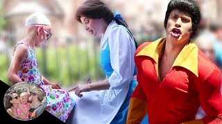 Gaston GETS REJECTED by Belle & Malia! *This is hilarious!* | Disneyland vlog #38