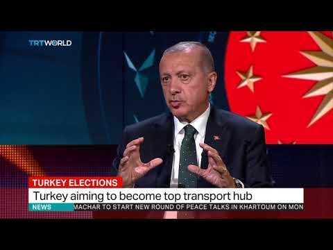 Turkey's new airport will make Istanbul a hub: President Erdogan