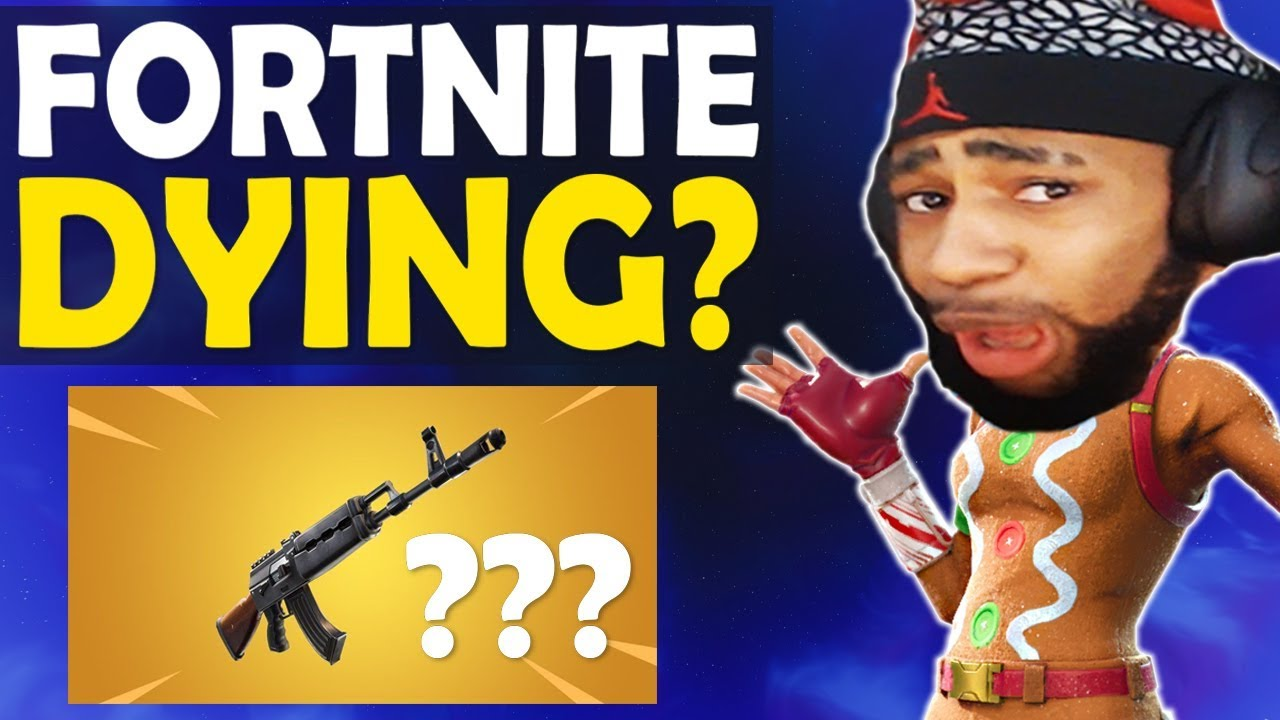 Is Fortnite Dying Reaction To New Heavy Ar High Kill Funny Game