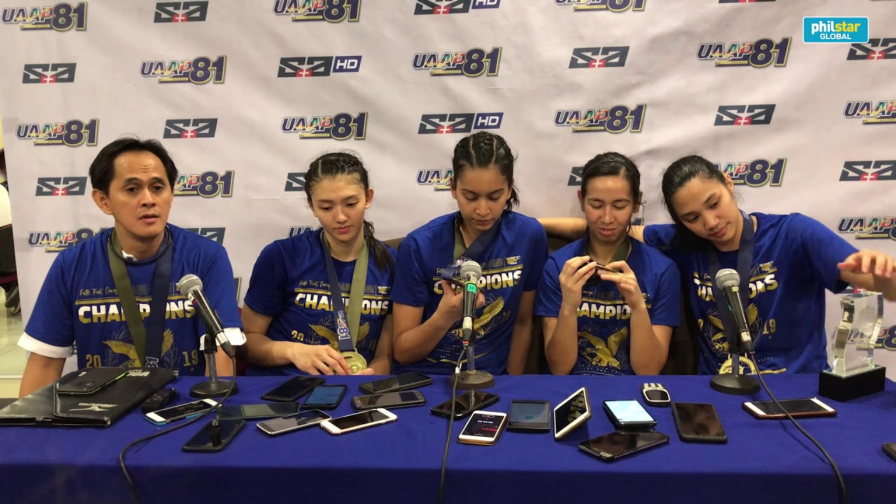 Coach Oliver Almadro on Ateneo Lady Eagles team patience