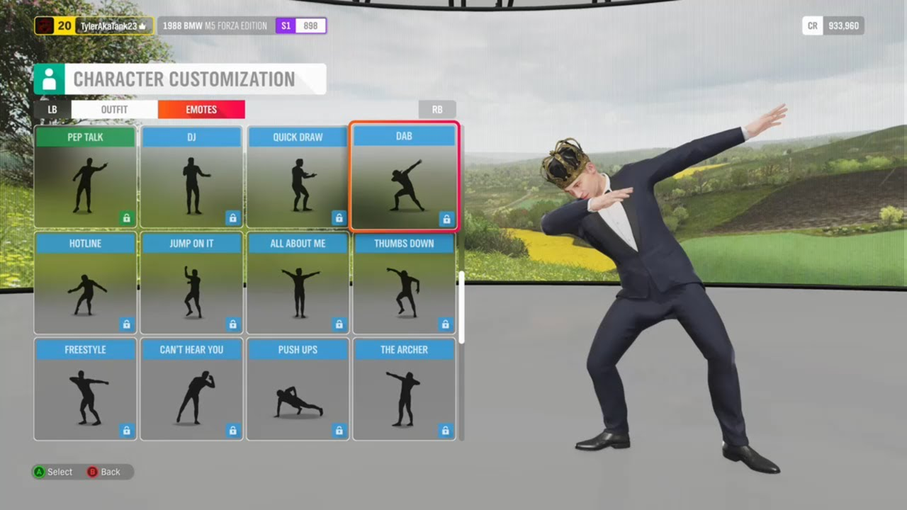 Forza Horizon 4 removes dance emotes at the center of Fortnite