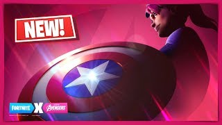 NEW FORTNITE X AVENGERS ENDGAME COLLABORATION THANOS LTM RETURN! AVENGERS SKINS - CAPTAIN AMERICA?