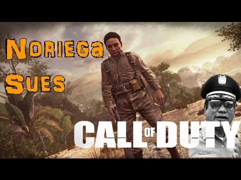 Manuel Noriega Sues Activison! Call of Duty in the Real World
