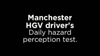 bad driving uk manchester hgv driver b