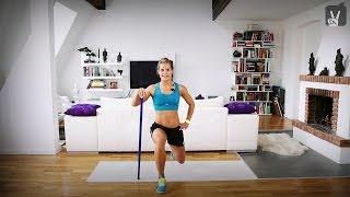 Fit in 4 Wochen - Tag 8 - Beine-Workout Teil 2