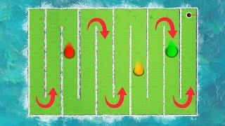 WORLDS LONGEST GOLF COURSE PUZZLE! (Golf It)