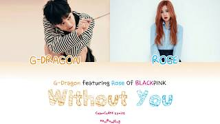 Download lagu Without You G Dragon