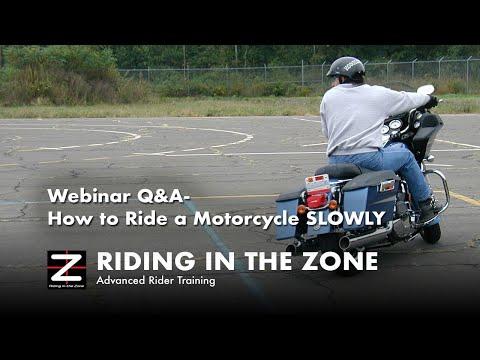 How to Ride a Motorcycle Slowly Webinar - Ken Condon