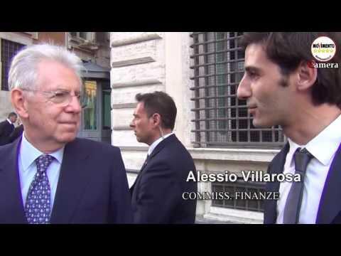 A.Villarosa e P.Bernini (M5S) 'intervistano' Mario Monti sul Bilderberg Meeting