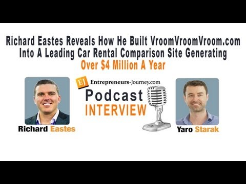 Richard Eastes And His 4 Million Dollar Story on Car Rental Comparison Site VroomVroomVroom.com