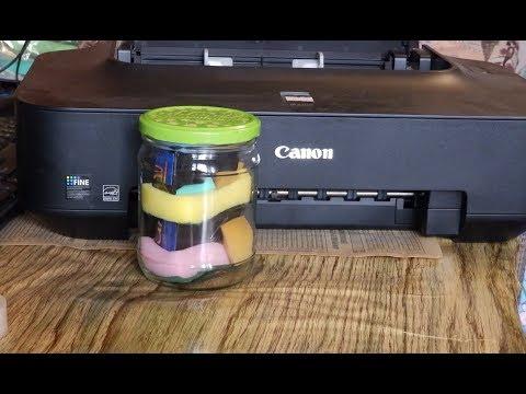 Как сохранить картриджи струйного принтера от засыхания. Консервация...