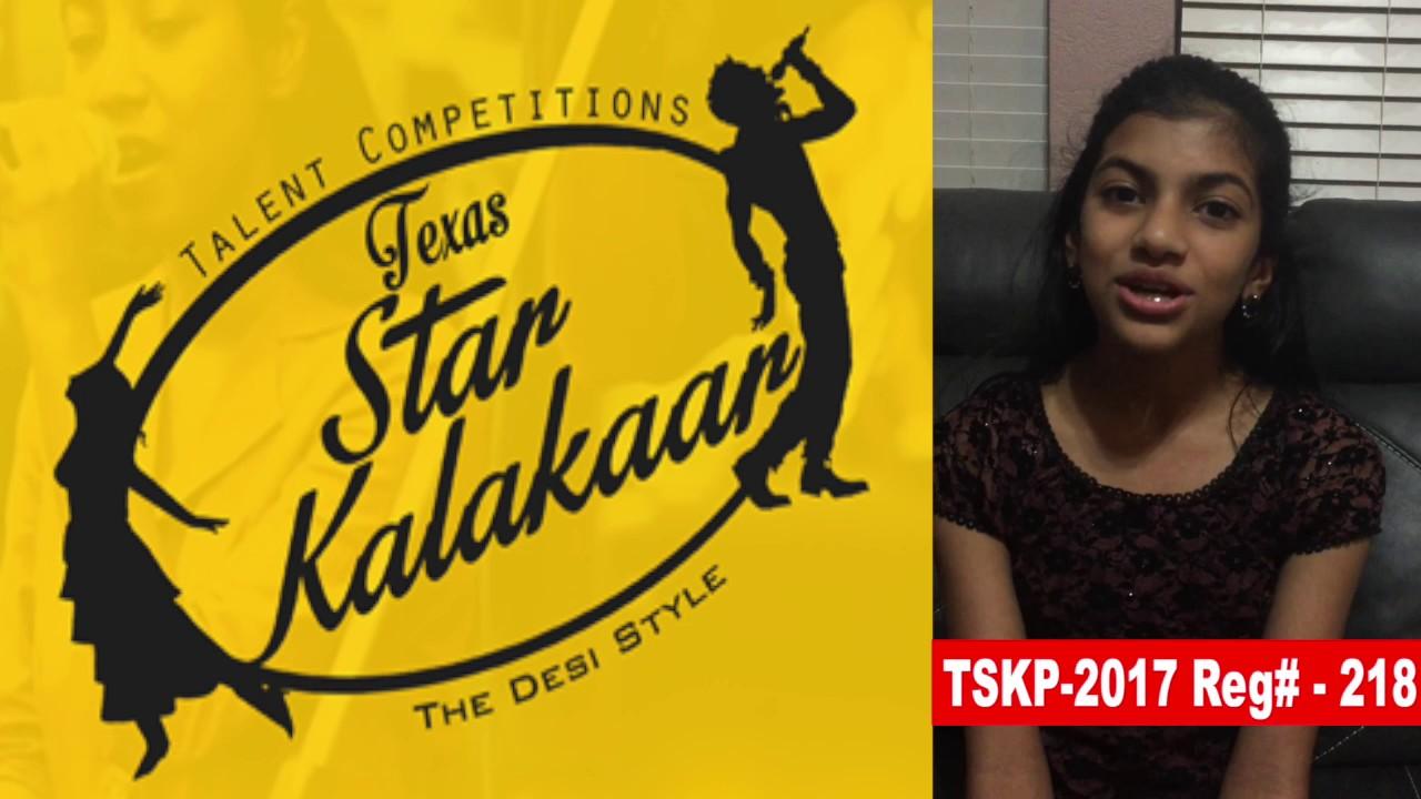Reg# TSK2017P218 - Texas Star Kalakaar 2017