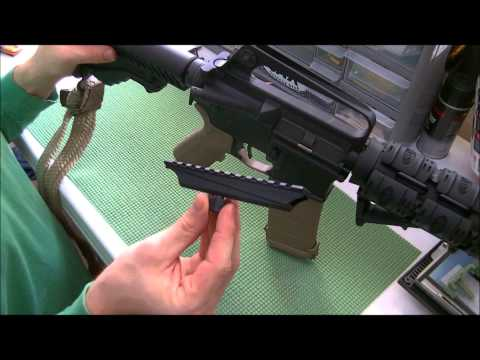 Carry handle rail system