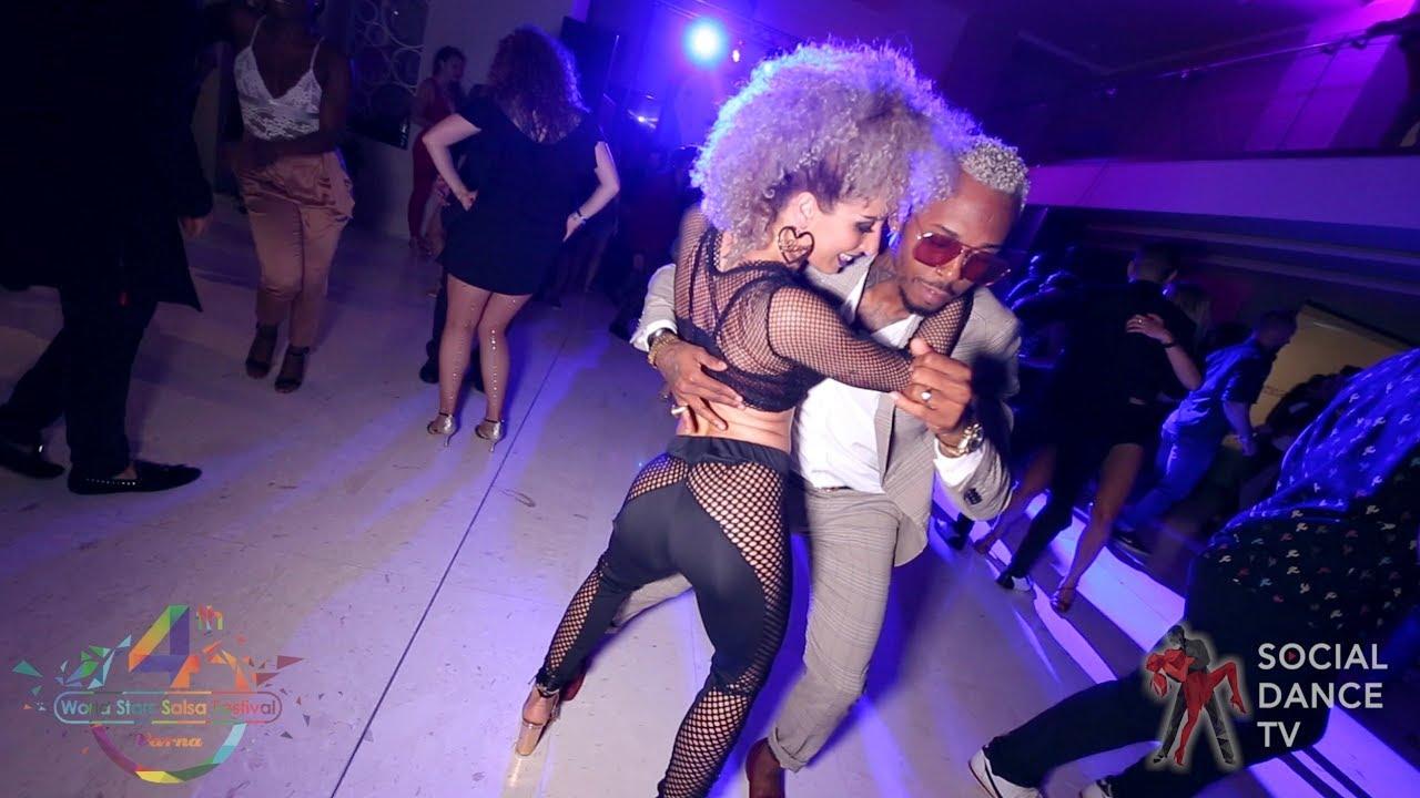 Yoandy Villaurrutia & Lety Cano - Salsa social dancing | 4th World Stars Salsa Festival