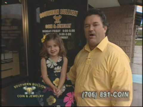 Kid Commercial - Daddy & Daughter - Too Cute - Southern Bullion Coin and Jewelry