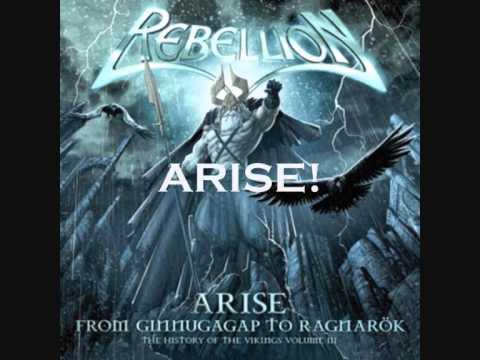 Клип Rebellion - Arise
