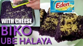 Biko Ube Halaya With Cheese So Easy To Make