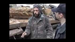 Сирийский танкист о танках Т 72/Syrian tank crew interviews tanks T 72
