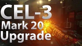 fully upgraded cel 3 cauterizer cel 3 cauterizer mark 20 gameplay advanced warfare exo zombies