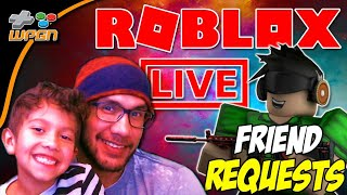 💯Friend Requests Live ROBLOX Stream Now - Friend Requests and Subscriber Chat (12-4-17)