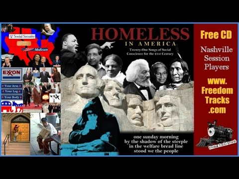 HOMELESS - Nashville Session Players - Free CD - www.FreedomTracks.com