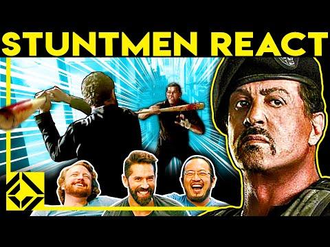 Stuntmen React To Bad & Great Hollywood Stunts 27 (ft. SCOTT ADKINS)