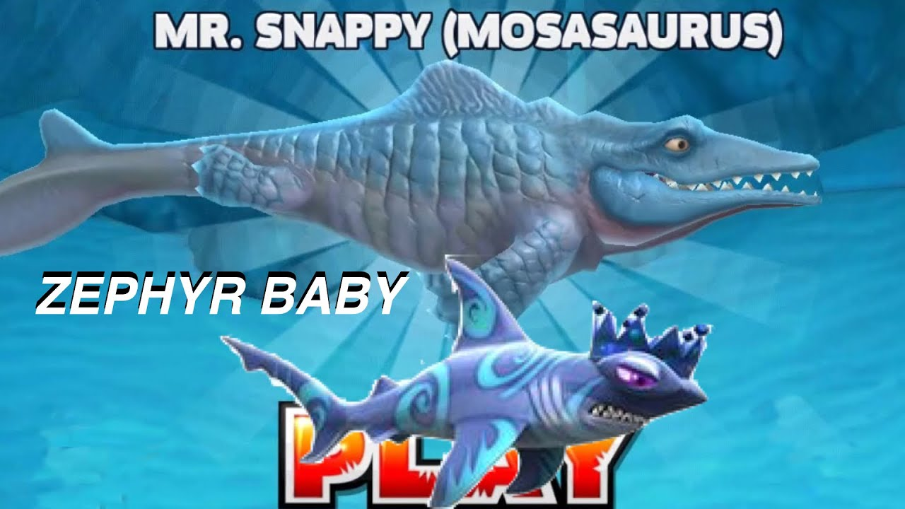 hungry shark evolution mr snappy mosasaurus zephyr baby hungry shark evolution mr snappy mosasaurus zephyr baby iphone ipad and ipod touch