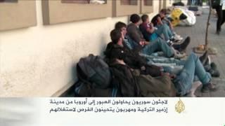 فيديو.. سوريون: مهربون أتراك يستغلون ظروفنا ويدفعوننا للموت