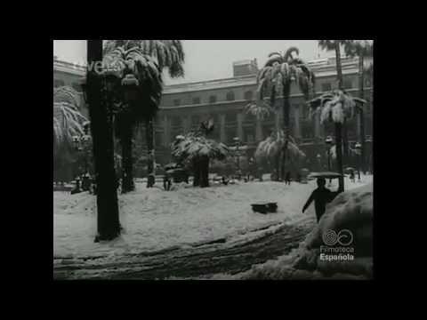La gran nevada de Barcelona 1962