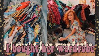 I Bought A Woman's Vintage Wardrobe Without Seeing It First
