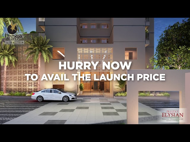 Prestige Elysian - Apartments on Bannerghatta Main Road