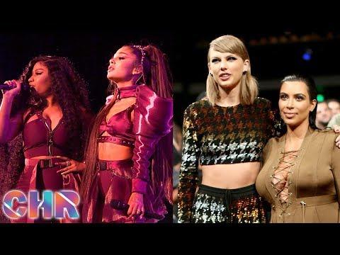 Ariana REACTS To Nicki Minaj Coachella Drama! Kim Kardashian REIGNITES Feud W/ Taylor Swift?! (CHR) Mp3