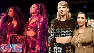 Ariana REACTS To Nicki Minaj Coachella Drama! Kim Kardashian REIGNITES Feud W/ Taylor Swift?! (CHR)