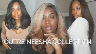 3 AFFORDABLE WIGS + OUTFITS | Outre Neesha Collection