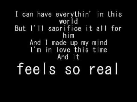 And I Ciara Lyrics on Screen