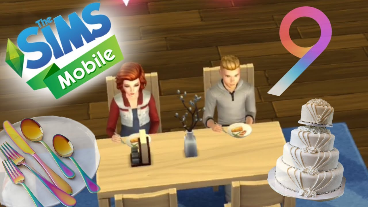 BRIBING FOR FREE WEDDING CAKE SAMPLES 9 THE SIMS MOBILE YouTube