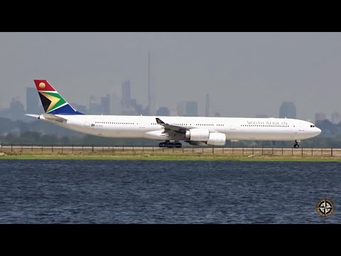 South African Airways Airbus A340-642 at JFK