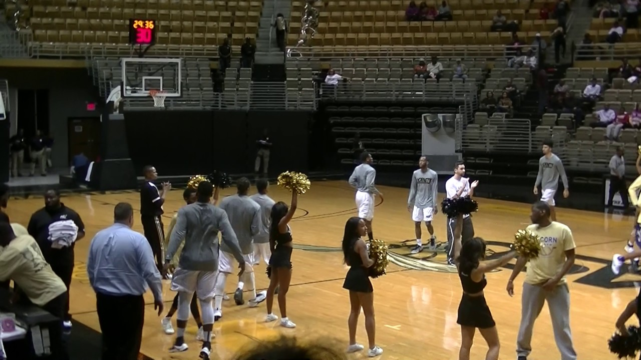 Alabama State Men's Basketball Pregame Warmups vs Alcorn ...