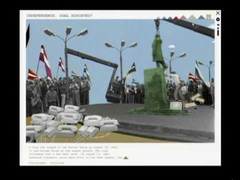 Multimedia CD The Popular Front of Latvia: Living History