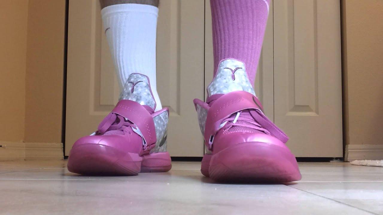 """Nike KD IV Aunt Pearl """"on foot"""" - YouTubeKd 4 On Feet"""