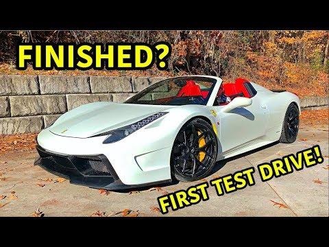 Rebuilding A Wrecked Ferrari 458 Spider Part 15