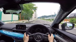 【Test Drive】 2018 New Mazda Atenza(Mazda 6) XD L Package 4WD - POV City Drive