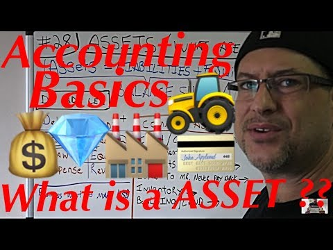 Accounting for Beginners #28 / Assets / What is an Asset ? / Accounting Basics / Balance Sheet