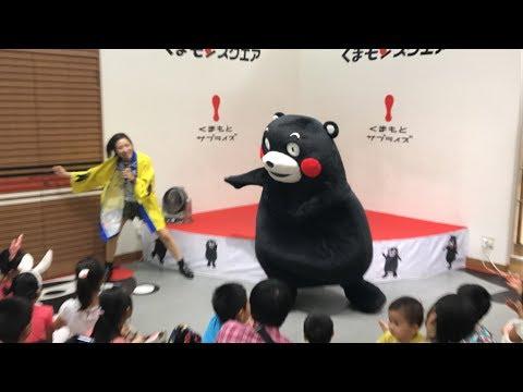 Kumamoto KUMAMON Show at Kumamon Square,  Aug.26th 2017