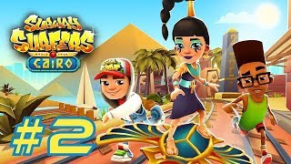 Subway Surfers 2017: Cairo - Samsung Galaxy S8+ Gameplay #2