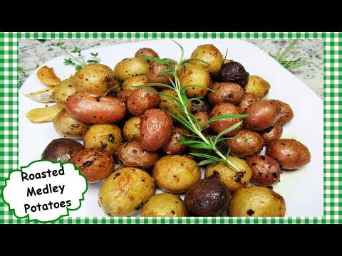How to Make Roasted Garlic and Rosemary ALDI'S Medley Potatoes