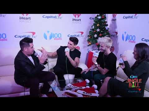 Y100's Jingle Ball - Jack and Jack: Backstage at #Y100JingleBall with Mack and Nina