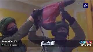 قوات الاحتلال تهدم منزل عائلة الأسير أحمد قنبع - (24-4-2018)