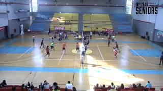 NEWTON GRANT VOLLEYBALL RECRUIT VIDEO (GREY AND RED T SHIRT)